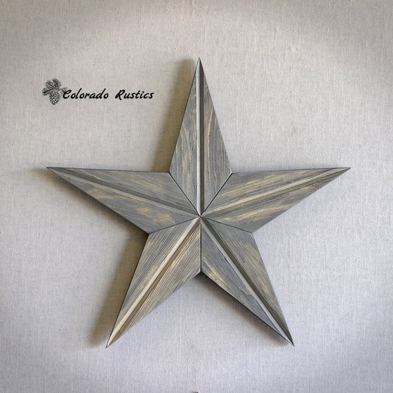 Rustic Star Wall Decor : Rustic star wood wall art beach d?cor reclaimed by