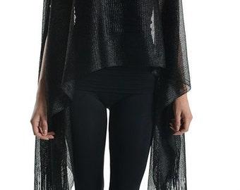 Fabulous Womens Ladies Fashion Mettalic Glitter Shawl Scarf Top Many Colors FREE SHIPPING!