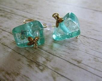 SeaFoam Green Earrings, Sea Green Earrings, Teal Earrings, Summer Earrings, Mothers Day Gifts, Birthday Gifts Women, Earrings,Green Earrings