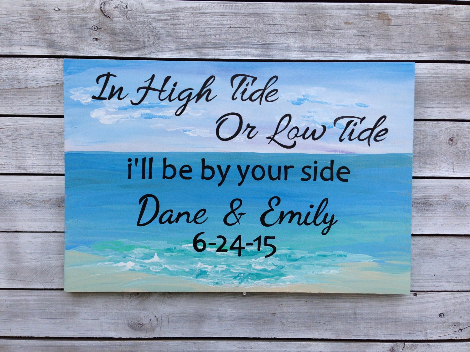 Low tide high style beautifully beach decor