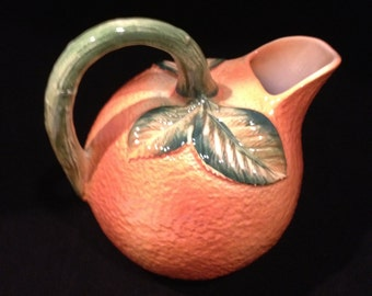 Orange Pitcher Made in Italy