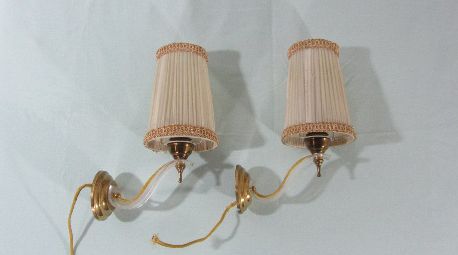 Wall Sconce Bedroom Lighting : 2 wall sconce 2 wall lights bedroom lights French sconce