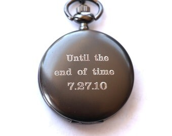 engraved watch fiancé gift pocket watch engraved mens pocket watch monogrammed watch personalized fiance gift gift for groom wedding party gifts