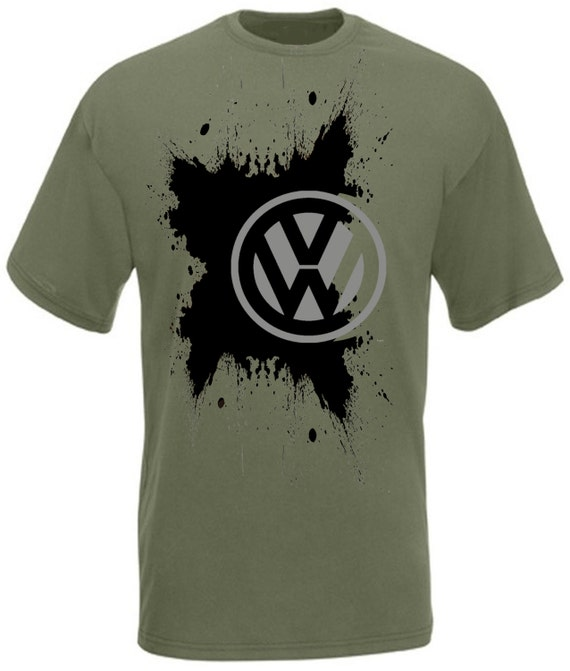 Vw camper t shirt men 39 s size small xxl by alltorqueclothing for Vw t shirts men