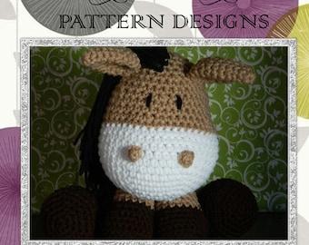 Crochet Horse Amigurumi Stuffed Animal Pattern {PDF PATTERN ONLY}