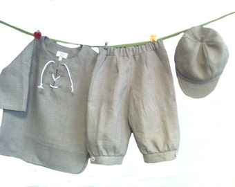 Toddler linen pants | Etsy
