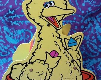 70's Toys ~ Shape Sorter Toy ~ RARE ~ Muppets Inc ~ Sesame Street ~ Big Bird ~ Rocking Discover Shapes Toy ~Learning Toy ~ My Nostalgic Life