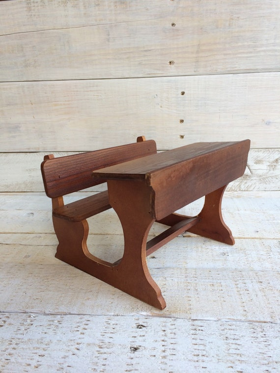 Wooden doll desk toy desks small