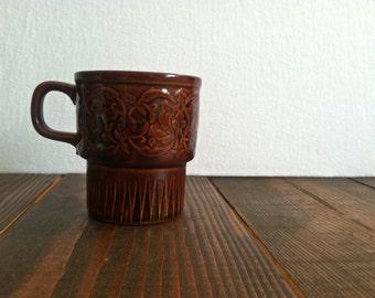 Vintage Floral Design Mug