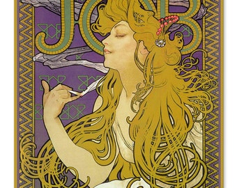 """Mucha Jobs, Rolling Papers, Metal Sign12""""x15"""""""