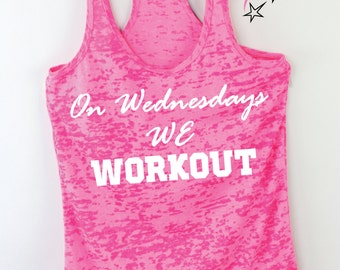 workout tanks for women  Burnout Tank tops  breast cancer tank top exercise shirts available in plus size pink tank top women's work out