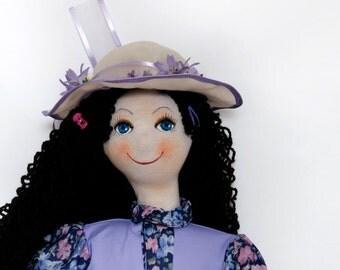 Waldorf inspired doll Klementýnka 75 cm