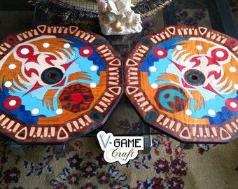 Package of  two Wall Clocks inspired in Terminas Clock from The Legend of Zelda MM