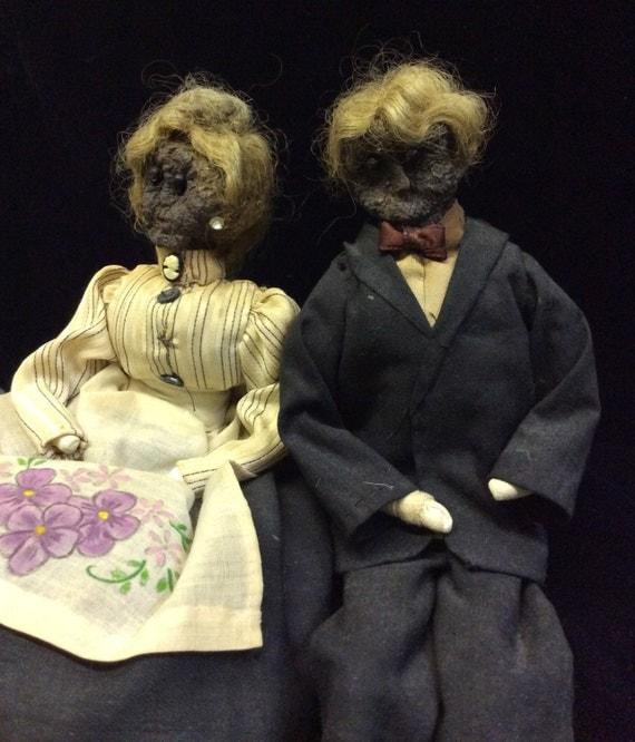 Apple Core Dolls Antique Apple Core Dolls Man