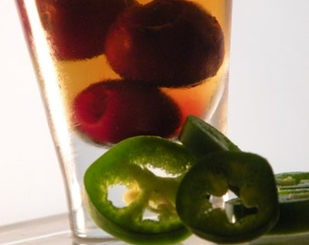 Cherry Bourbon Chipotle Preserves