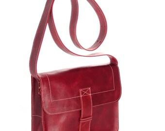 Carriel bag leather messenger bag handmade