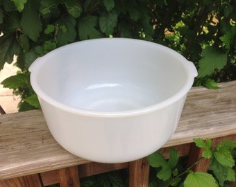 Sunbeam Milk Glass Mixing Bowl!