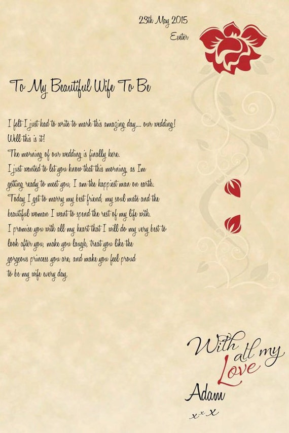 Love Letter Design Template Create Your Own Love Letter at