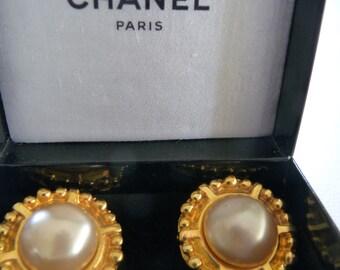 CHANEL - earrings vintage
