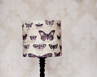 Delightful Lampshades, Butterfly Lamp Shade, Butterfly Home Decor, Home Office Decor,  Table Lamp