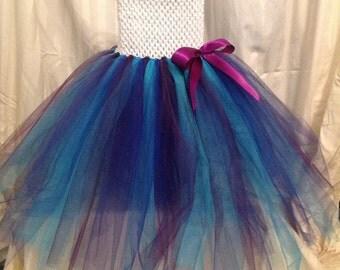 Blue and Purple Tutu Dress