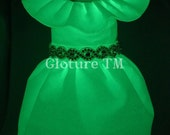 GloDress Glow In The Dark Couture Princess Dog Dress by Gloture