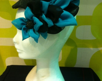 Hat, handmade, made in italy hairstyle for weddings