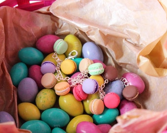 French Delight - Sweet Macaron Bracelet or Keychain