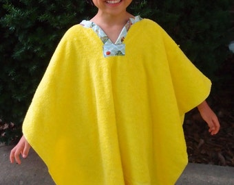 Towel Poncho--Pool--Beach--Bath~Customizable!
