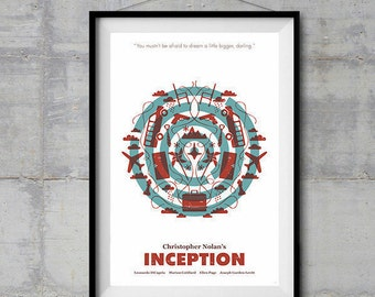 Inception Alternative Movie Poster - Icon Artwork