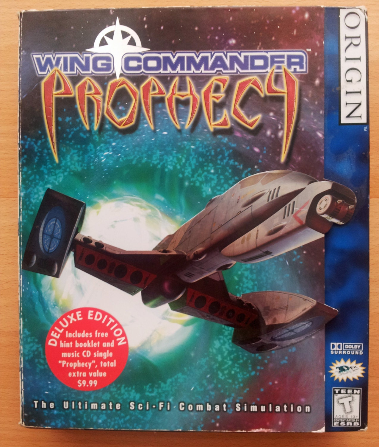 Rare wing commander prophecy deluxe edition pc by for Wing commander prophecy