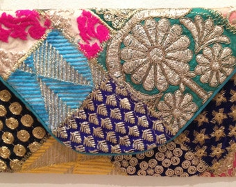 Cartera-bolso type about ethnic style