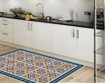 Vinyl Floor Mat, Area Rug, Kitchen Rug, Doormat, Pvc Rug, Floor
