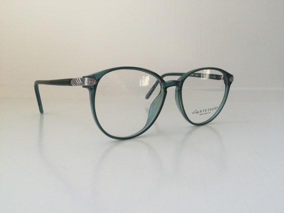 Vintage Mint Green Glasses Oversized Cat Eyeglasses Clear