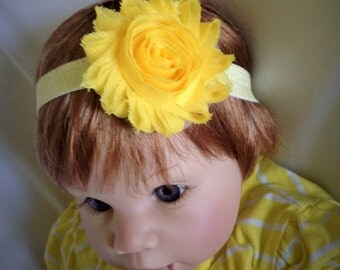 sunshine yellow headband, chevron baby outfit, spring clothes, birthday outfit, baby headband, unique baby gift, simply southern, niece gift