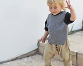 SALE  40% off - Kids Harem - Toddlers Harem Pants - Girls Boys Harems Pants - Toddlers Baggy Pants - Hipster Toddlers - Kids Bottom