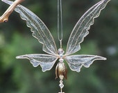 NEW! Fairy Suncatcher Large - Birthstones & 24 More Swarovski Colors - Silver or gold toned Fairy