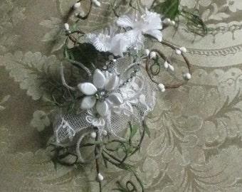 Handmade Evening Garden Bridal Headpiece