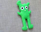 Green Plush Monster, Asher