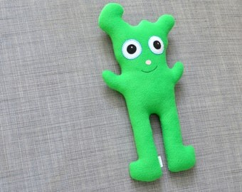 Green Plush Monster, Asher