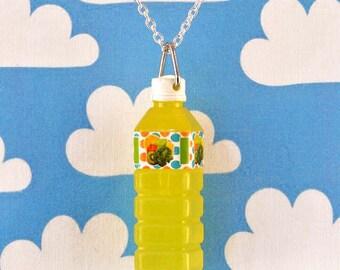 Pop Bottle Necklace - Yellow