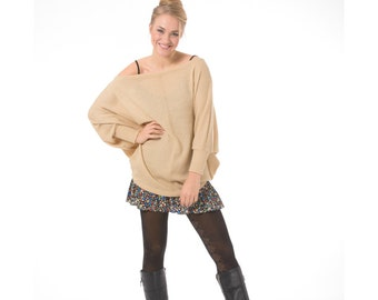 Free shipping! Oversized sweater, Long sleeve oversized sweater, Pullover sweater, Off the shoulder sweater, Plus size sweater