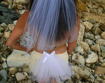 BACHELORETTE Las Vegas Party Veil SET, Bachelorette Head Veil SET of 2