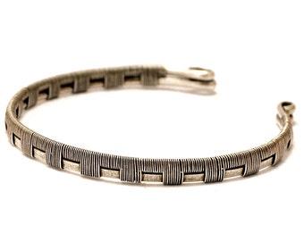 Ancient Greek Armlet, Silver Arm Cuff, Upper Cuff Bracelet, Silver Armband, Godess Arm Bracelet, Upper Arm Bangle, Upper Arm Band