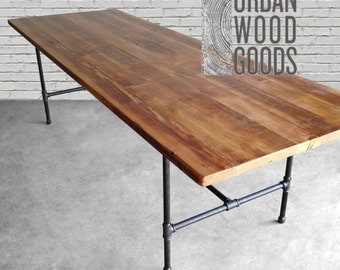 Reclaimed wood table top Etsy