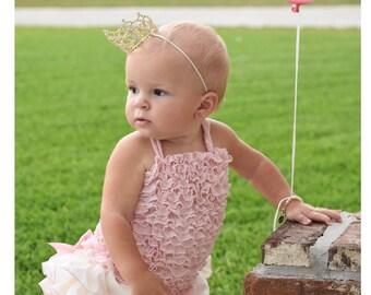 Baby girl shirt, baby girl top, pink shirt, Ivory top, Purple top, Mini Ruffled Petti Tank Top