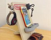 Super Nintendo SNES Universal Cell Phone Charging Dock Stand Organizer