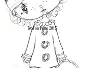INSTANT DOWNLOAD Digital Digi Stamps..By LeaVon Price - Circus