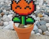 8-Bit Mario Flower fire power inspired plant