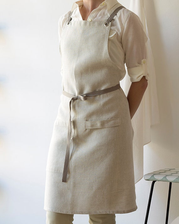 Kitchen Apron - Oatmeal